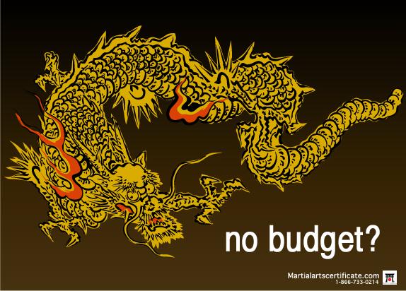 no budget?