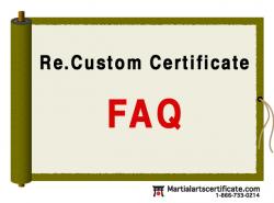 custom certificate?