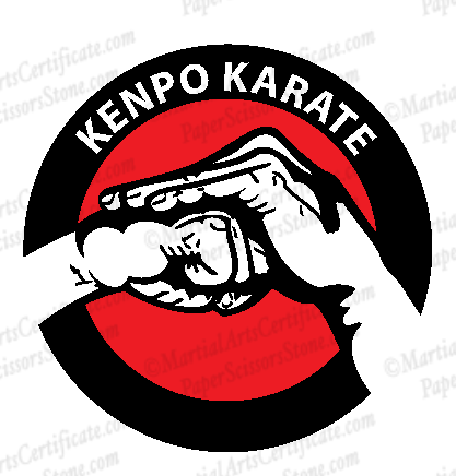 Kenpo Karate Hands Logo
