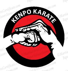 Kenpo Karate Hands Logo